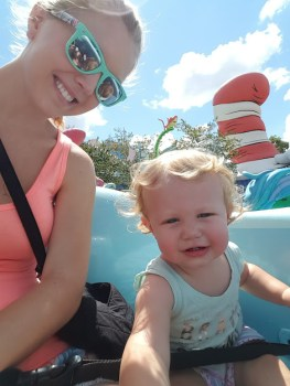 Universal Orlando with a baby