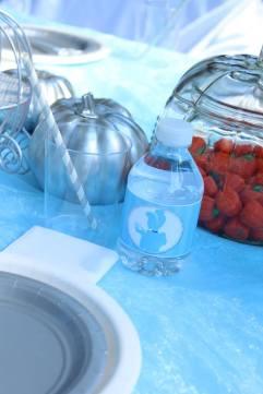 Cinderella Water Bottle label