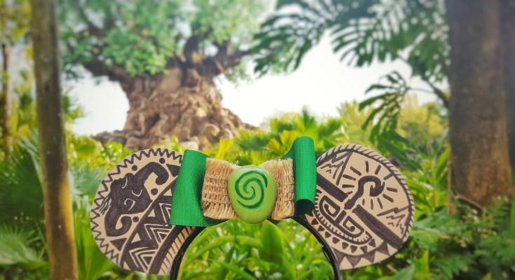 DIY Moana Maui Mickey Ears