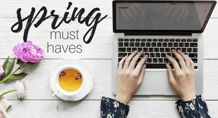 Spring Mom Must Haves