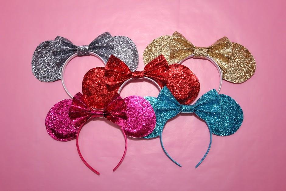DIY Sparkle Mickey Mouse Ears for Cheap