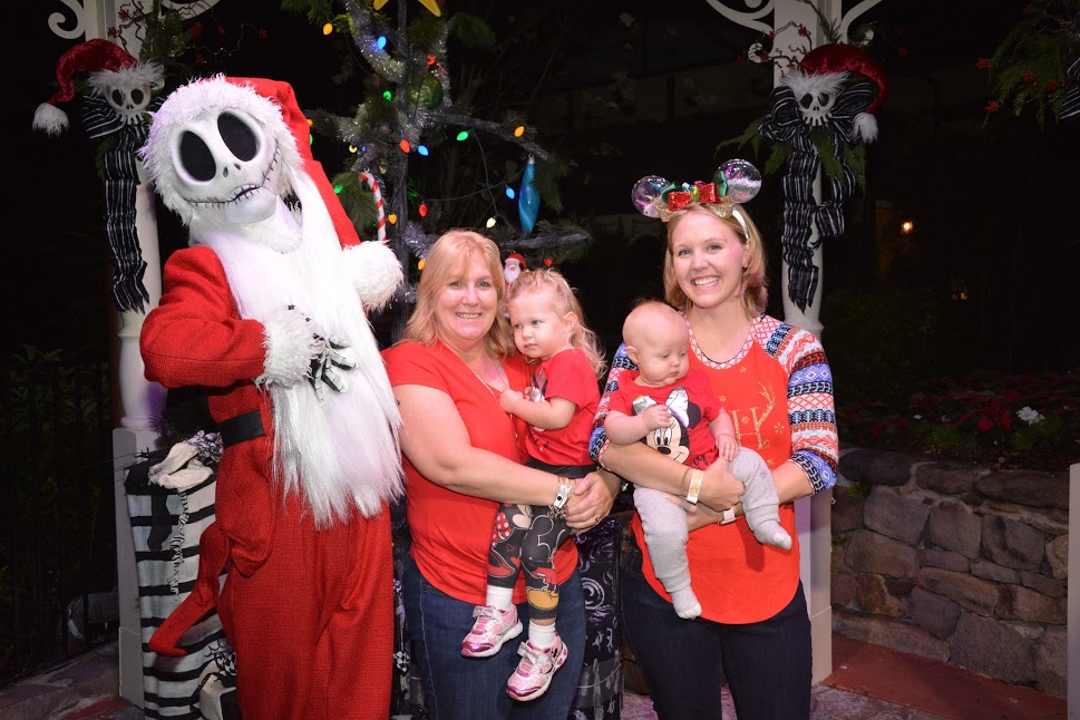 Meet Jack the Pumpkin King - Christmas Party at Disney World