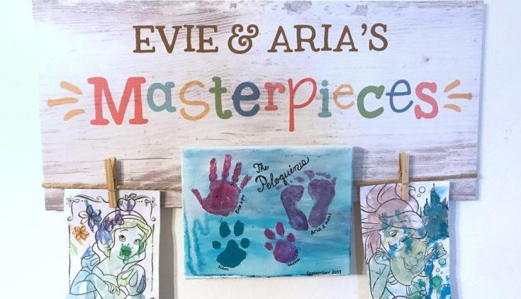 DIY Pet and Kid Canvas