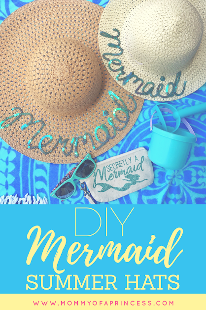 Mermaid Summer Hats