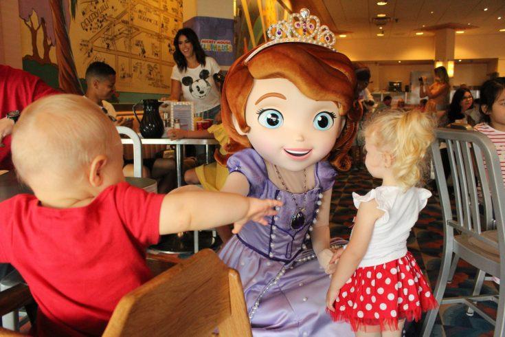 Disney World with preschoolers Disney Junior Breakfast
