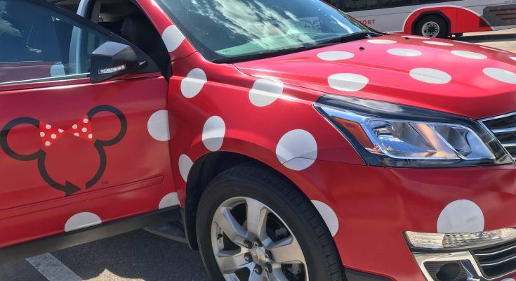 Minnie Van Transportation at Walt Disney World