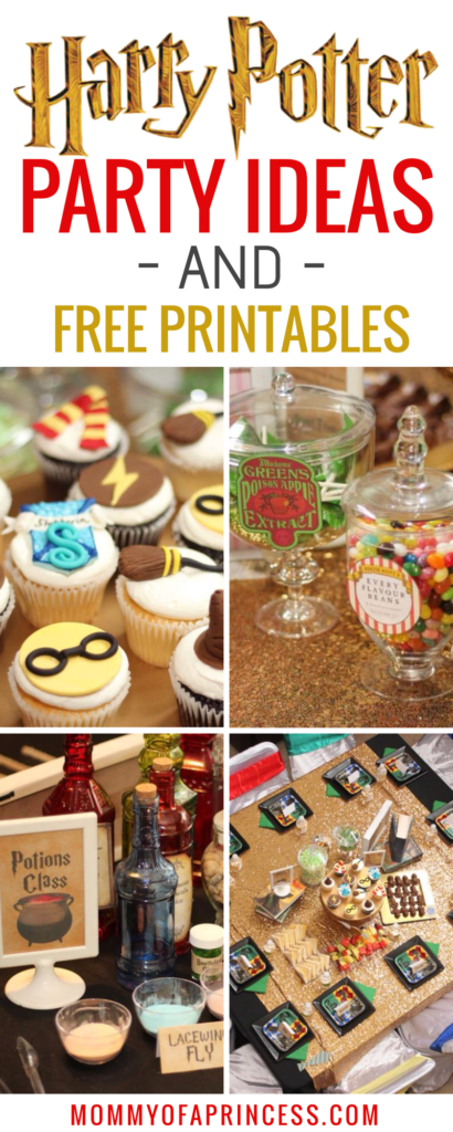 Girly Harry Potter Birthday Party Ideas + Free Printables