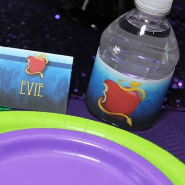 Mal Amp Evie From Descendants Birthday Party Ideas Free Printables