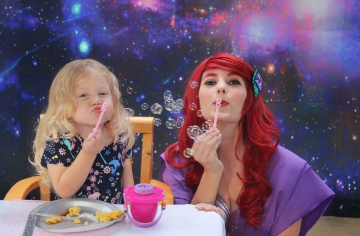 Ariel Jedi Disney Princess Star Wars Birthday Party