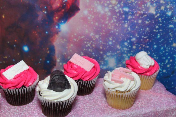 Girly Star Wars DIY Cupcakes