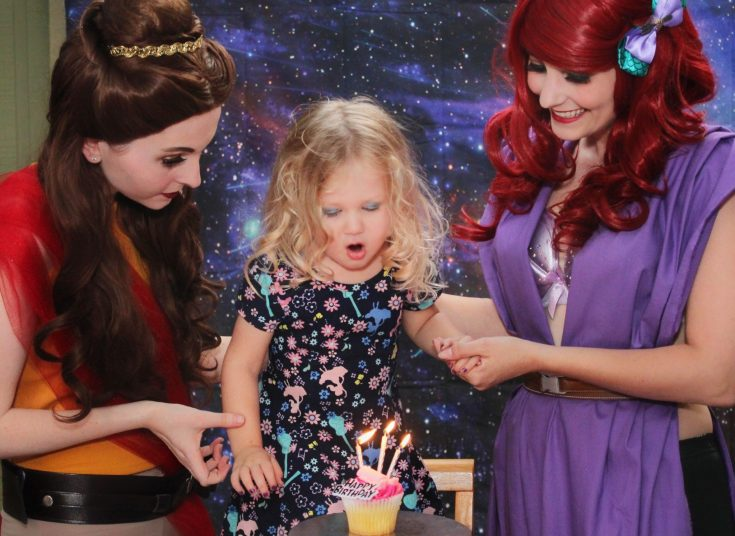 Disney Princess meets Star Wars Birthday Party