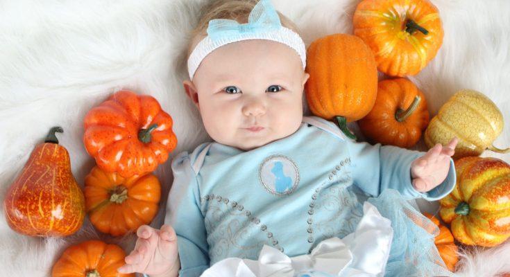 Cinderella Baby photos DIY