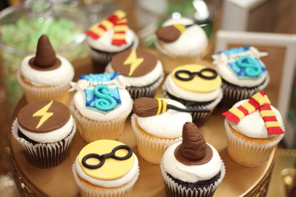 harry potter birthday party food ideas cupcakes