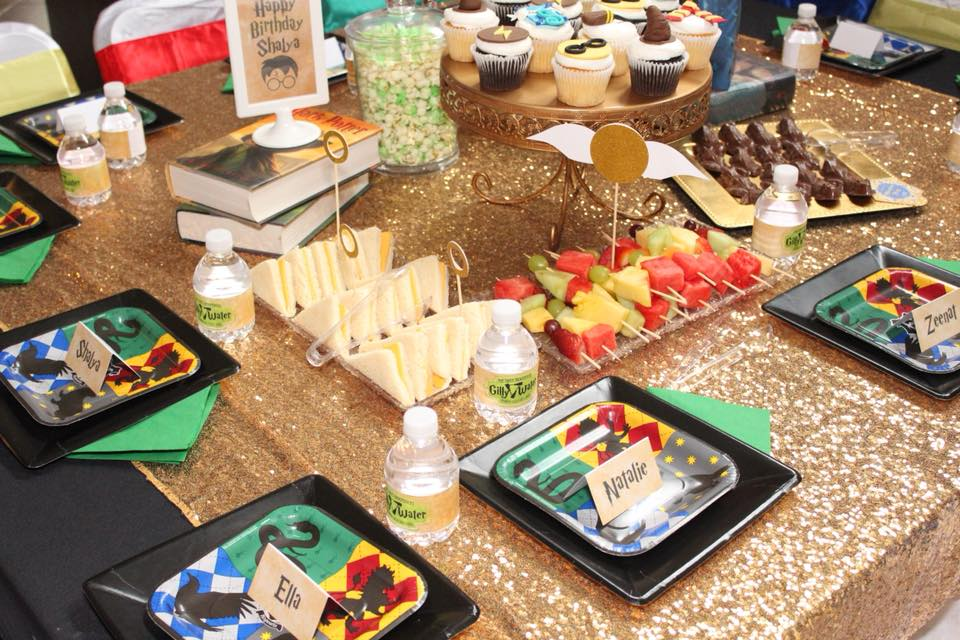 harry potter birthday party food ideas