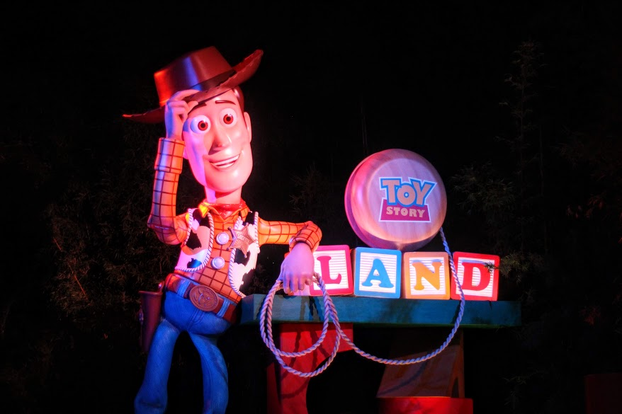 Toy Story Land After Dark