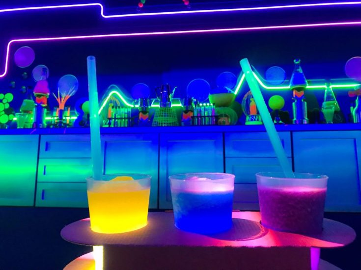 Light Lab at 2018 Epcot Food and Wine Festival with kids