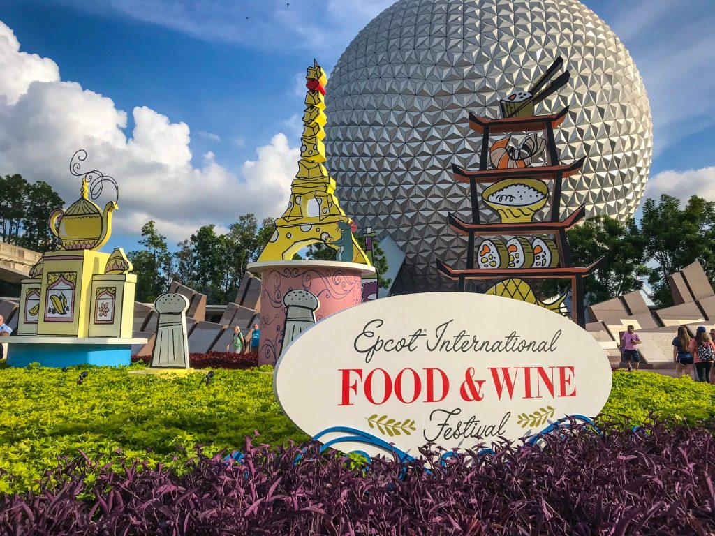 Family Fun at Epcot Food & Wine Festival