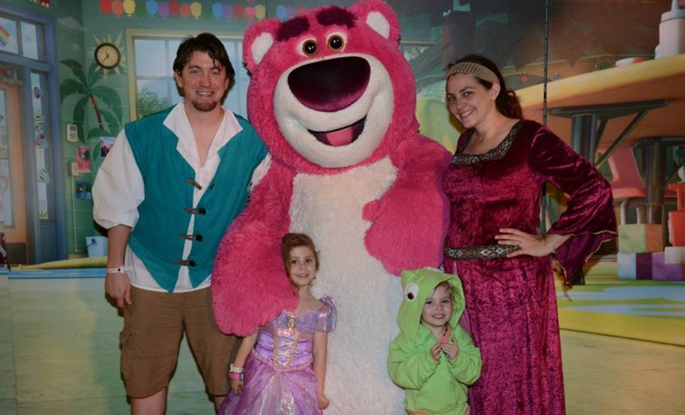 Rapunzel Tangled Family Costume Ideas