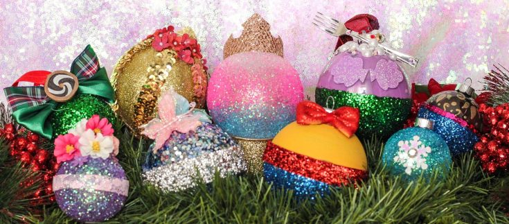 DIY Disney Princess Ornaments for Christmas