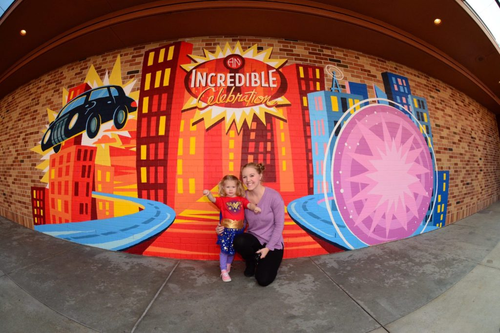 The Incredibles at Pixar Place