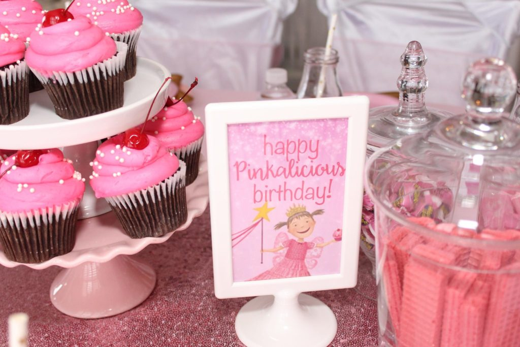 Pinkalicious Party Ideas and Free Printables