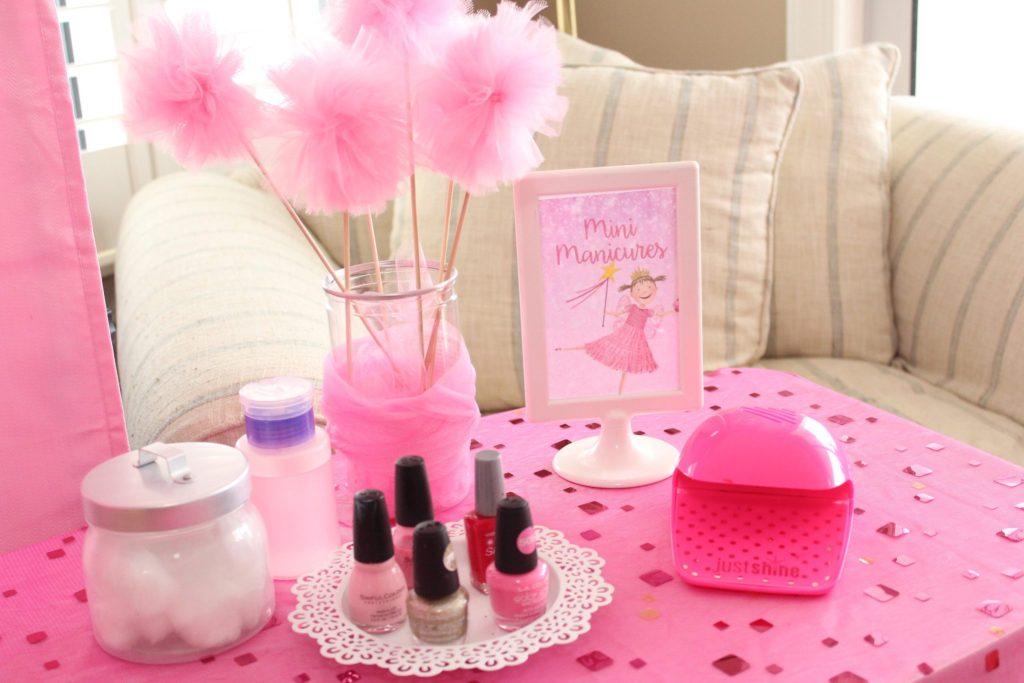 Mini Manicures Kids Birthday Party Ideas