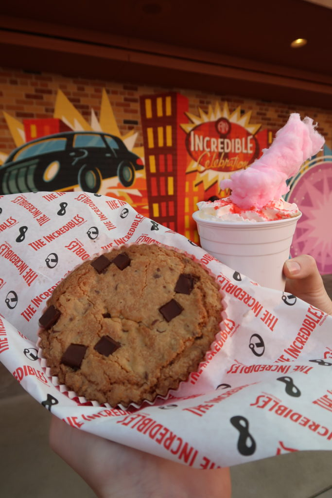 Nom Nom Cookie and Secret Identity Drink from The Incredibles at Pixar Place