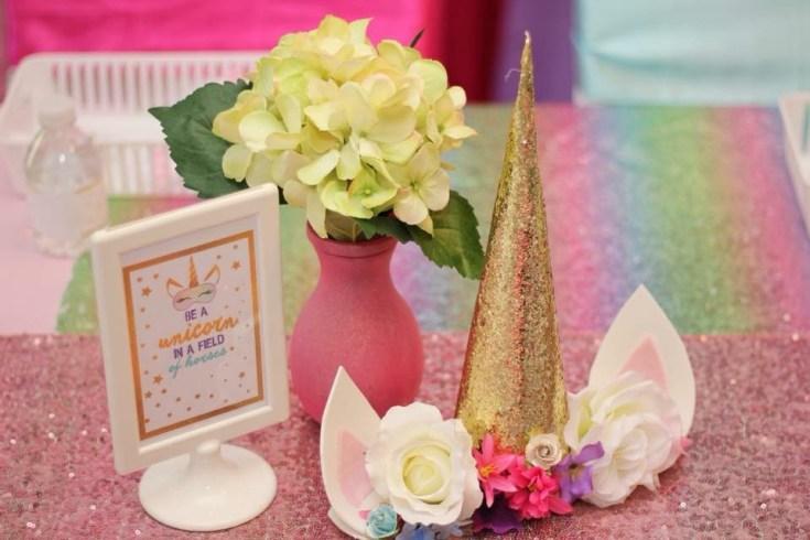 Unicorn Spa Party Ideas
