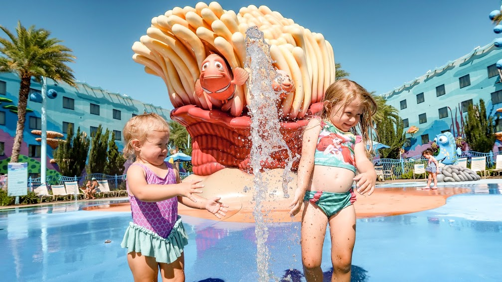 Play Areas at Disney World