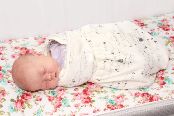 Surviving the fourth trimester with swaddling for good sleep habits