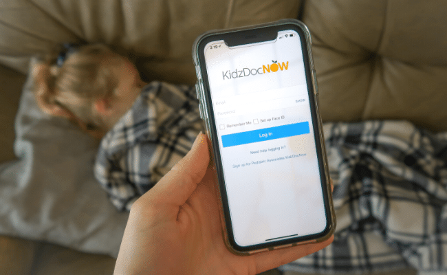 Peace of Mind 24:7 with Pediatric Telemedicine from KidzDocNow
