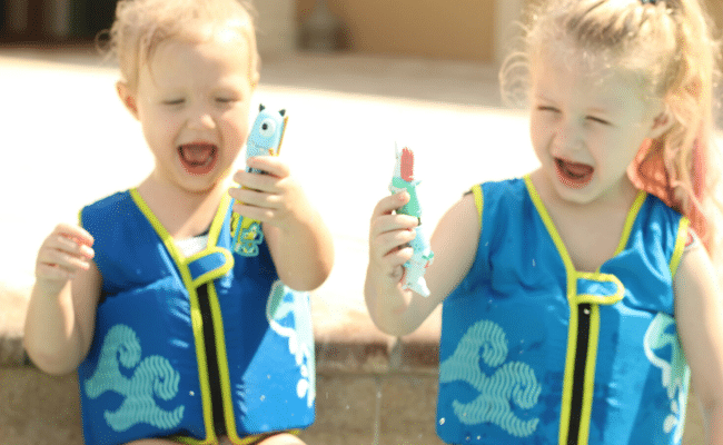 Summer Pool Safety with Best Swim Vest for Kids