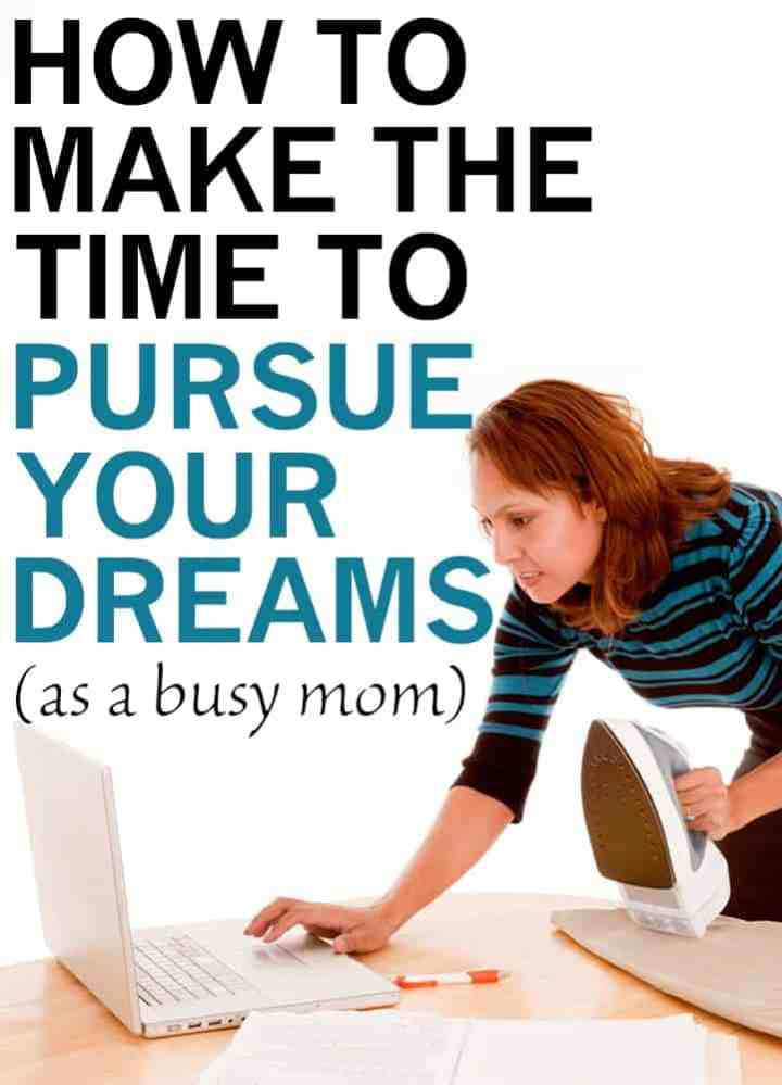 how to achieve your goals as a mom