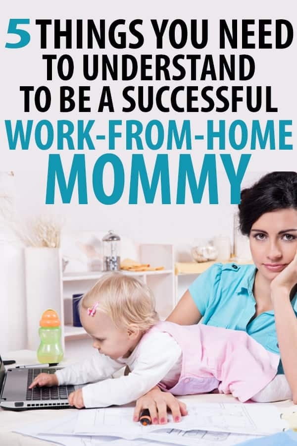 How to work from home with kids!