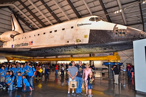 Endeavor Endeavour California Science