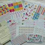 #PlanningForPleasure With Little Miss Helper Planner Stickers