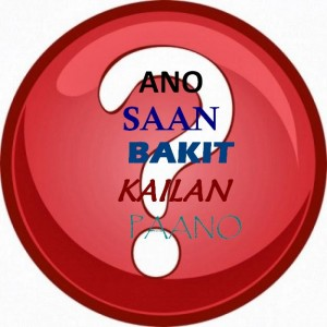 Tagalog 101 Question Words In Filipino