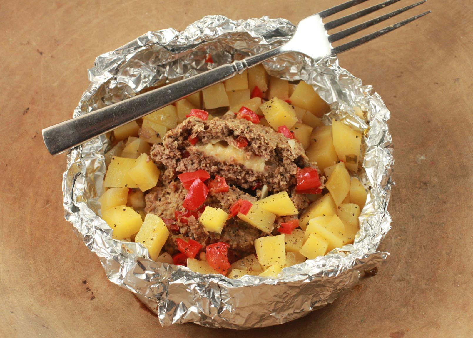 Hobo Adobo Foil Dinner My Entry for Ready Set Cook  Mommysaverscom