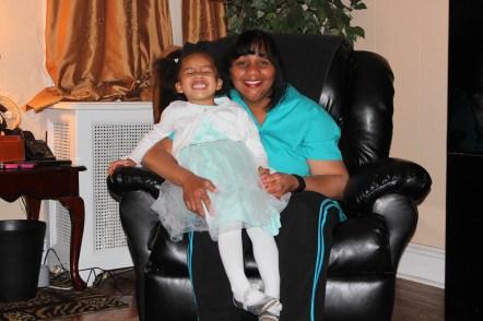 Quinn and her Nana