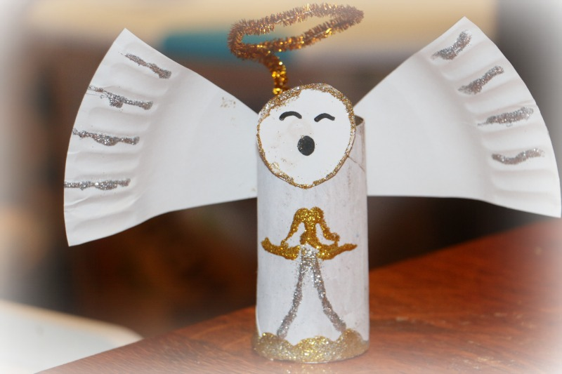 21 Angel Crafts Kids Can Make At Christmas Mommys Bundle