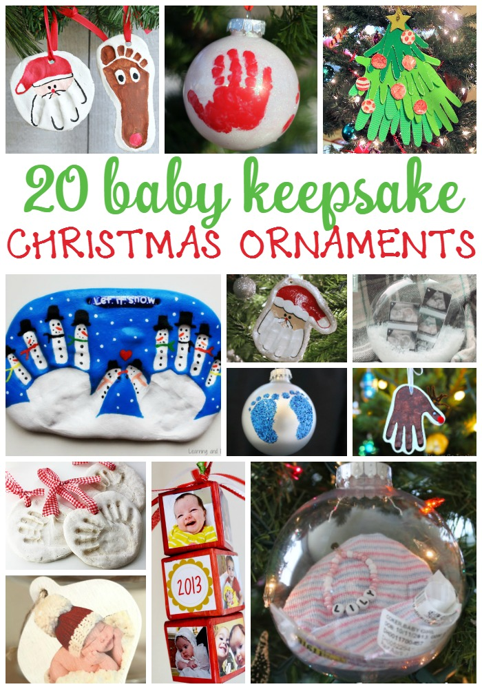 20 homemade ornaments for