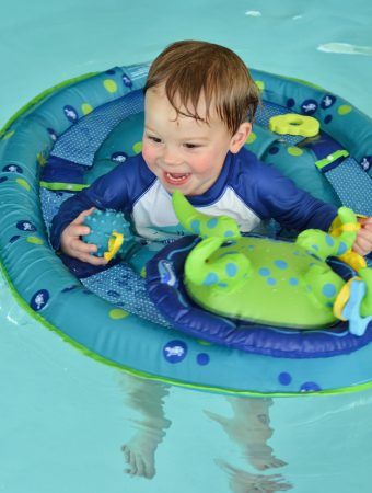Swimways Baby Spring Float With Canopy Blue With Ducks : swimways, spring, float, canopy, ducks, SwimWays, Patrol, Spring, Float, Canopy, Toys,, Games, Floats, Floating