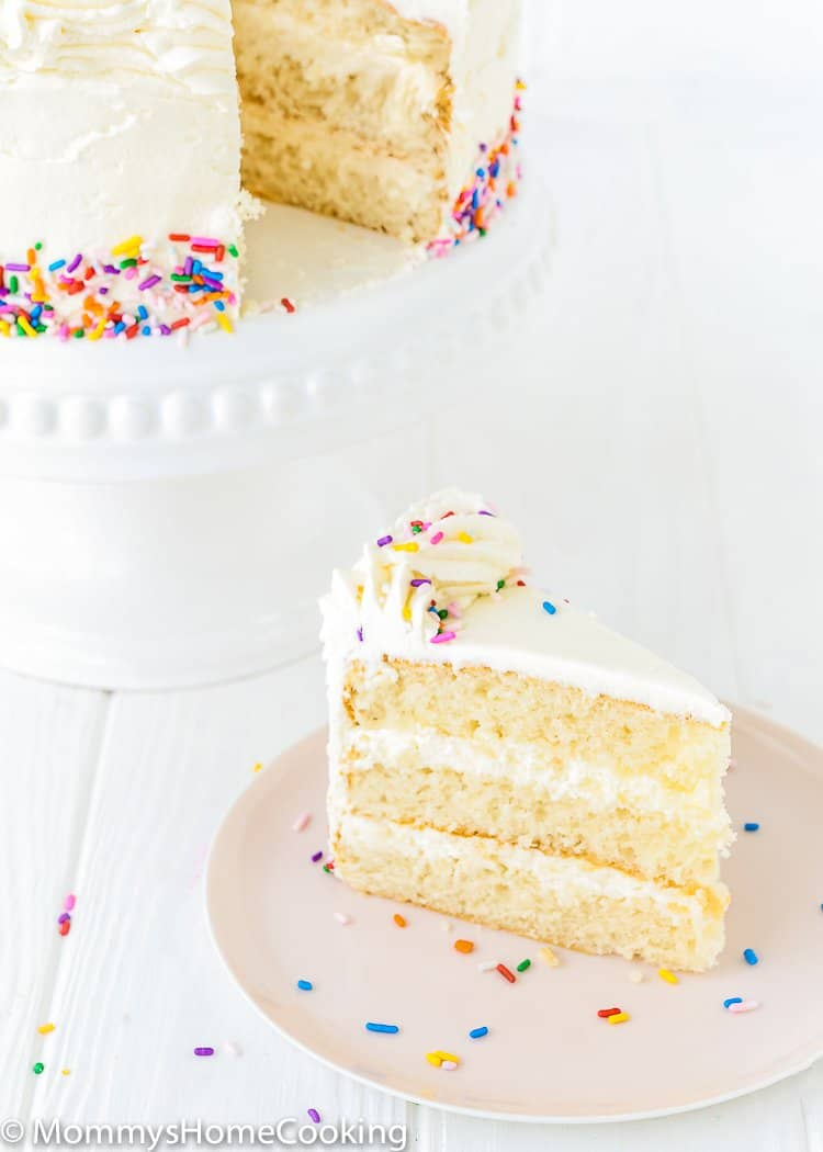 Eggless Vanilla Cake Recipe Mommys Home Cooking