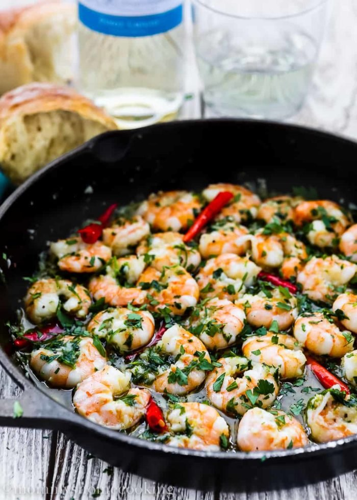 Spanish Style Garlic Shrimp  Mommys Home Cooking