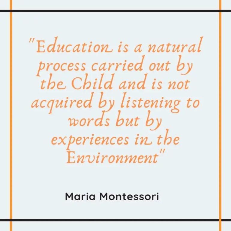 Montessori Method, Alternative Education, Early Childhood Education, Educational Methods, shravmusingswrites, Montessori Quotes