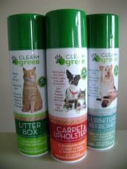 Clean + Green Pet Odor & Stain Remover #Giveaway and #Review