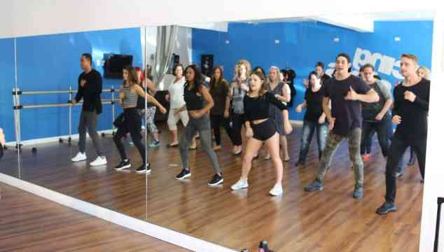 I Once Took Dance Lesson from the Dancing with Stars Troupe #DWTS #abctvevent