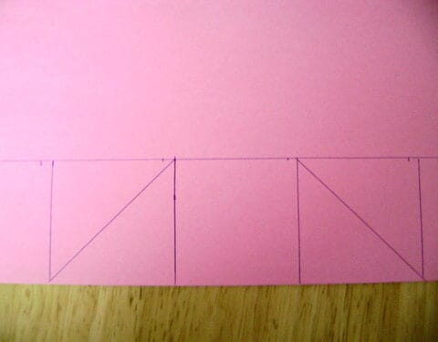 cardstock with squares