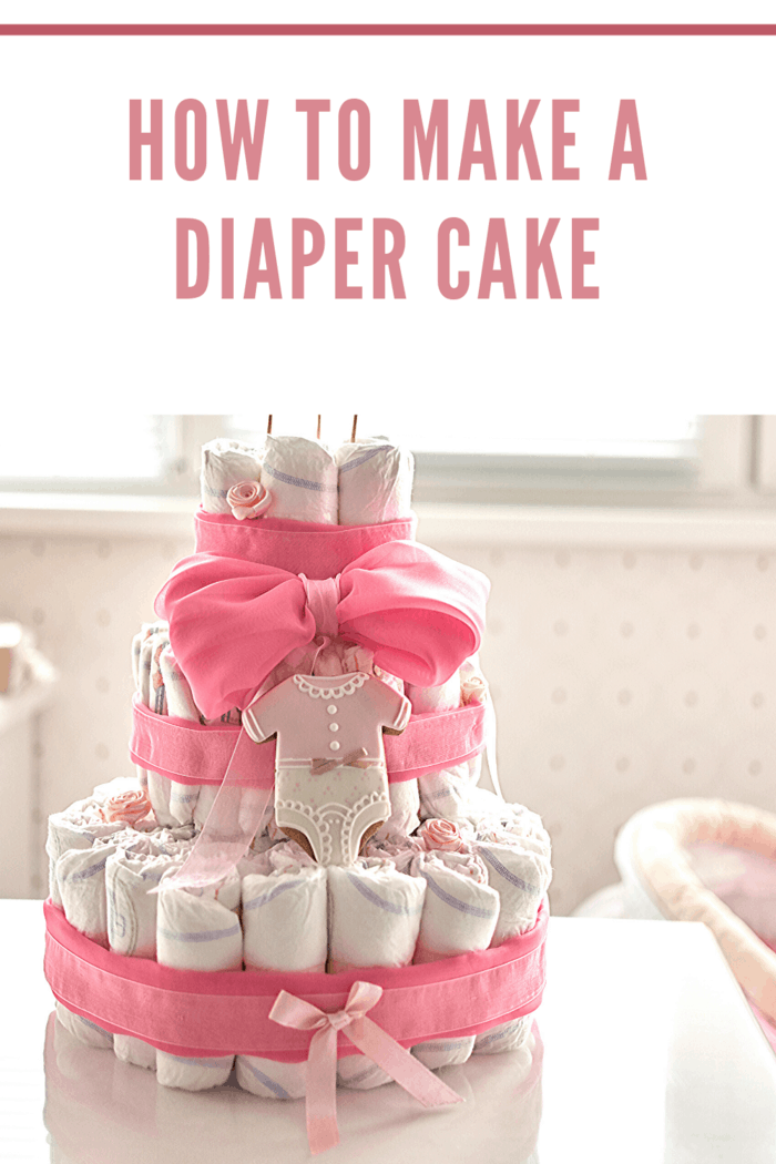 As fun as it sounds, a diaper cake makes a very unique, interesting, and unforgettable baby shower gift.