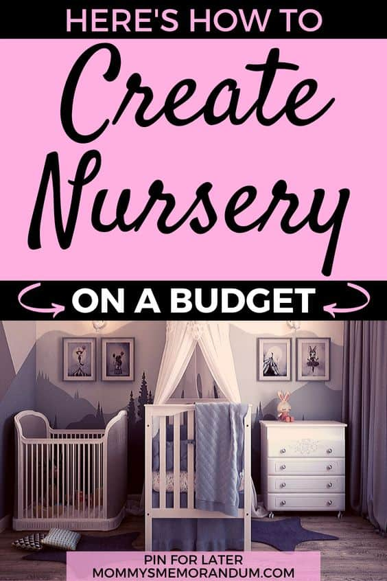 Budget-Friendly Nursery Decorating Ideas